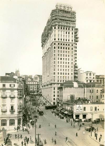 AHSP - Acervo fotográfico do Arquivo Histórico de São Paulo, Avenida São João 1928