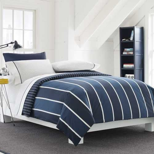 Nautica Knots Bay Bedding By Nautica Bedding, Comforters, Comforter Sets, Duvets, Bedspreads, Quilts, Sheets, Pillows: The Home Decorating C...