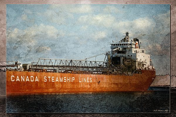Canada Steamship Lines. Photo art by WB Johnston, available as prints in a large variety of sizes.