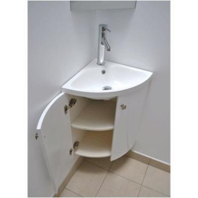Les 25 meilleures id es concernant meuble lave main wc sur - Meuble lave main d angle wc ...