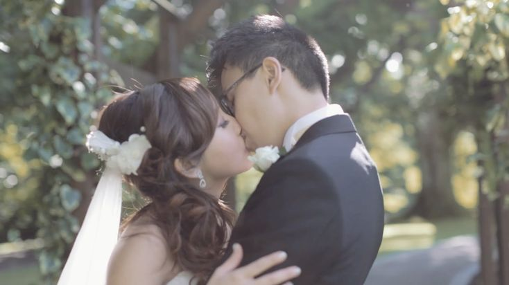 I want to make a wedding video like this when I get married! <3