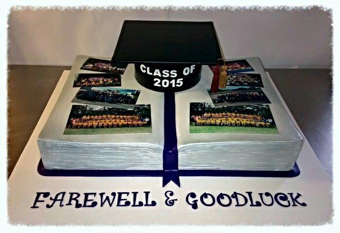 Graduation cake. Guilford Public School year 6 2015 Farwell cake.