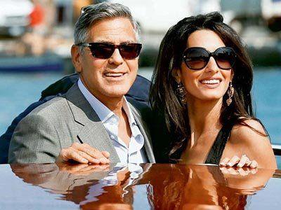 Clooney, Alamuddin's honeymoon not in Seychelles