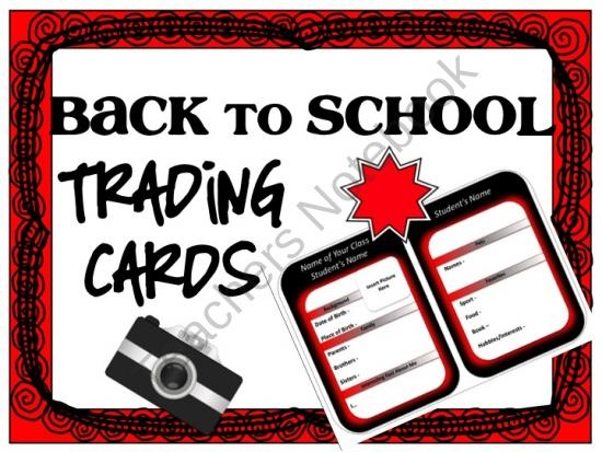 110 best Trading Cards - ideas\/lessons images on Pinterest Child - trading card template