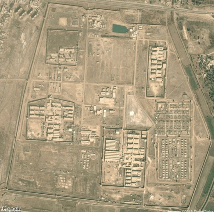 All the US Army's secret bases mapped on Google maps