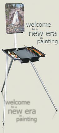 Soltek Easel Pro, The king of plein-air easels..., I'm so getting this someday.