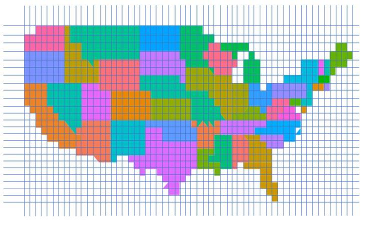 Pixel Maps in Excel in 2020   Pixel art templates, Pixel, Pixel art