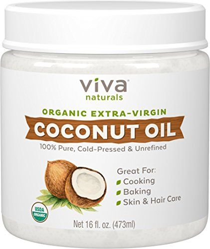 Best Extra Virgin Coconut Oil.  Organic, cold pressed and unrefined. Get the best! A million things to use coconut oil for. Hair conditioner, grow eyelash, grow hair, condition skin, oil pulling, makeup remover....