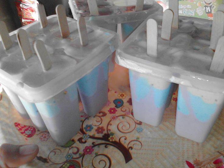 Resep Ice Cream 3 Rasa Mangga Vanili dan Coklat