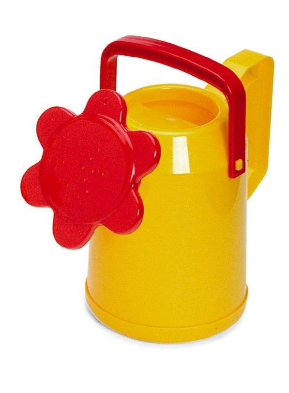 Plasto Watering Can Yellow and Red http://www.greenanttoysonline.com.au/watering-can-toy