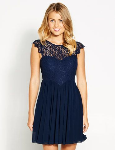 Image for Tiffany Lace Tea Dress from Dotti