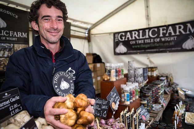 A trip to #YorkFoodFestival The Garlic Farm #food #foodie #garlic