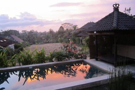 Check out this awesome listing on Airbnb: Pool, Ricefield and Sunset Views - Villas for Rent in Ubud