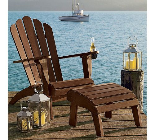 | Copy Cat Chic | chic for cheap: | Adirondack Chairs from Pottery Barn |