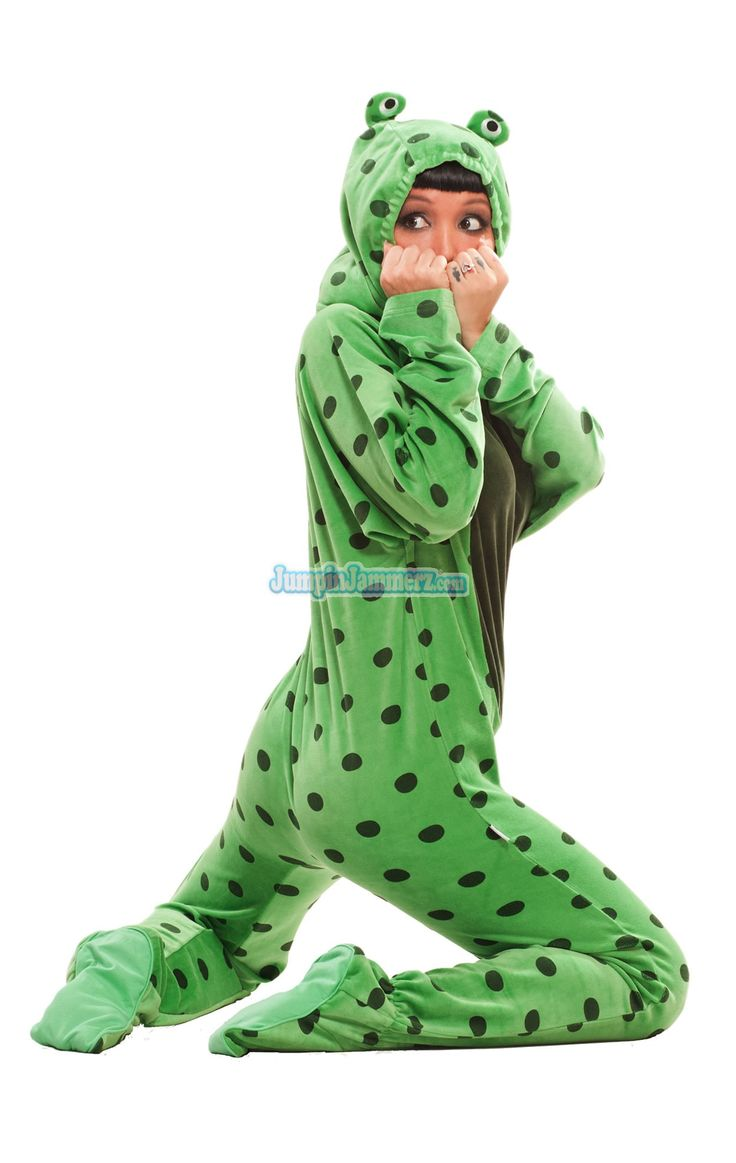 frog footie pajamas for adults