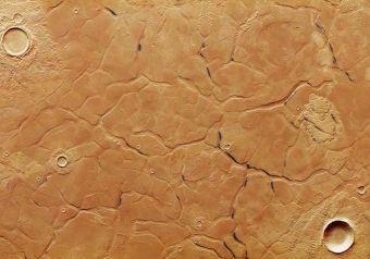 Labirinto marziano | A.S.I. - Agenzia Spaziale Italiana  Una nuova immagine del pianeta rosso rilasciata dall'ESA mostra l'intricata regione dell'Adamas Labyrinthus, che potrebbe testimoniare l'antica presenza di acqua sul suolo marziano.