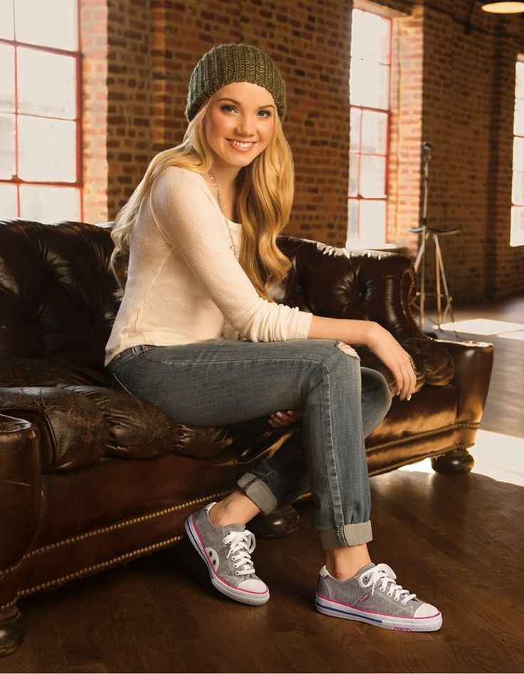 Danielle Bradbery in Ok! Magazine with her BOBS Utopia sneakers