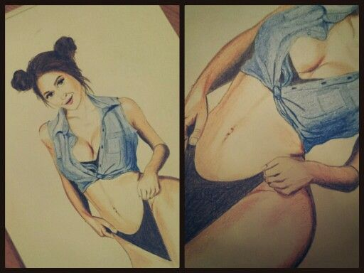 #drawing #pencils #girl