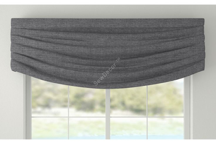 CV 14 - Window Valance Modern Valances