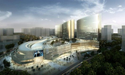 Xiamen Wu Yuan Wan Mixed-Use Development Winning Proposal / Aedas