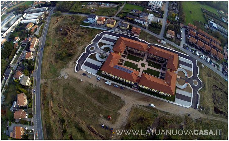Vista dall'alto del lotto 2 alle Ceppine, in Tradate di prossima consegna  Maggiori informazioni sul nostro sito internet