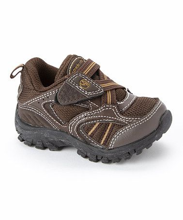 Another great find on Stride Rite Brown Clayton Leather Sneaker - Kids by Stride  Rite