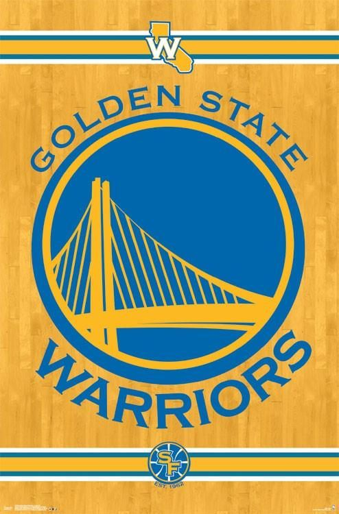 Wall Poster - NBA - Golden State Warriors Logo
