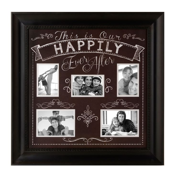 Happily Ever After Collage Frame | Kirklands