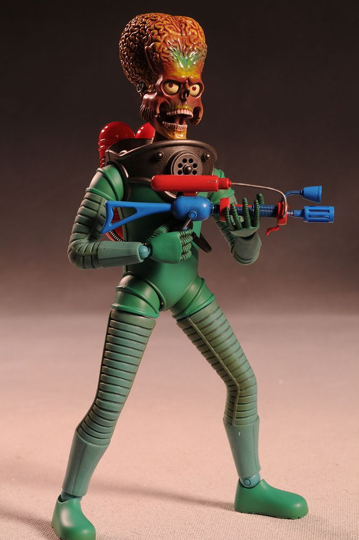Hot Toys Mars Attacks Martian sixth scale action figure ...