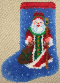 40 Best Latch Hook Rug Kits Christmas Images On Pinterest