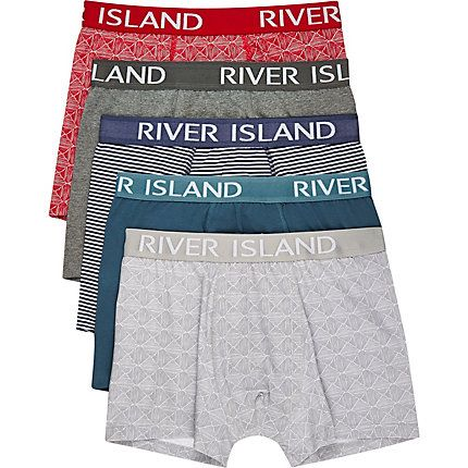 Mixed patterned trunks £22.00