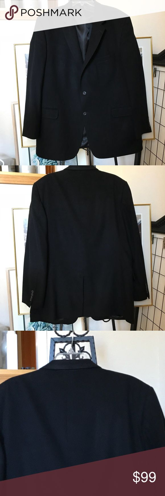 JoS. A. BANK 💯% Cashmere Sport Coat. 48L BIG GUY, this one's for you. Like new Cashmere Sport Coat with luxurious silky lining. Fine tailoring in 100💯 black Cashmere. Measurements upon request. JoS. A. Bank Jackets & Coats Lightweight & Shirt Jackets