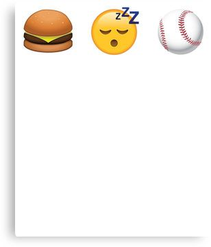 Eat Sleep Softball Emoji Emoticon Funny Graphic Tee Shirt