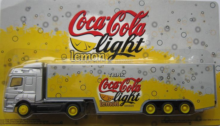 Truck Camioncino Coca Cola Light Lemon Scala 1 87 | eBay