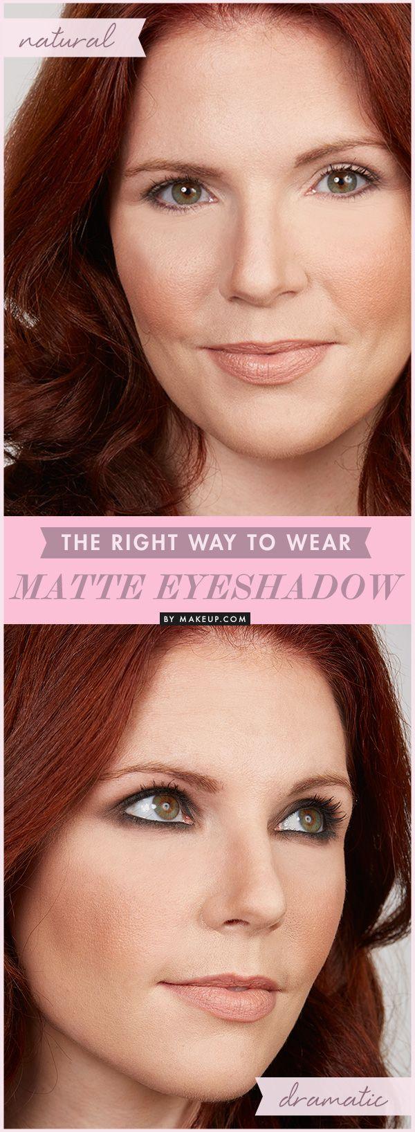 matte eyeshadow looks