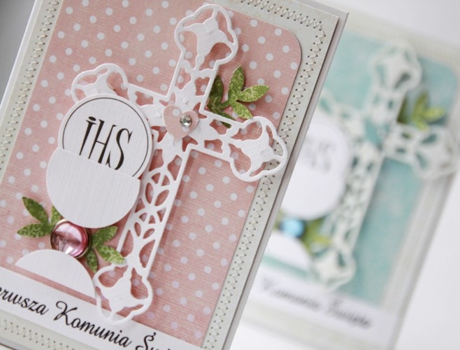 Girl's Communion card....by Agnieszka