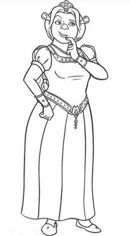 Princess Fiona Art Designs