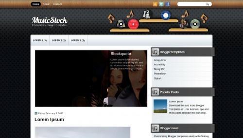 MusicStock (template para sitio de Guitarra)