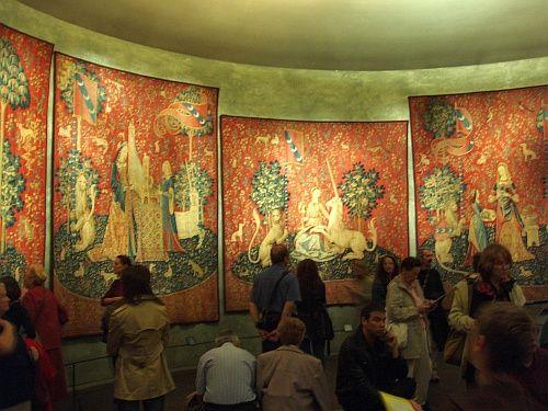 La Dame à la licorne @ Musée national du Moyen Âge (Cluny Museum, Paris)