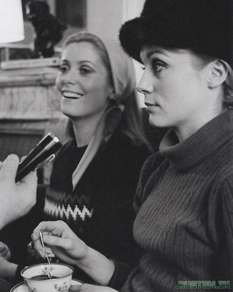 Francoise Dorleac et Catherine Deneuve