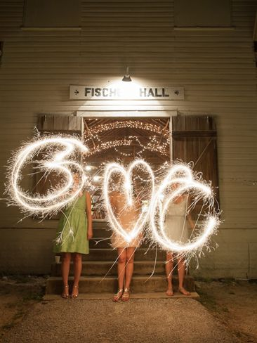 Sparklers for your hens night party guests