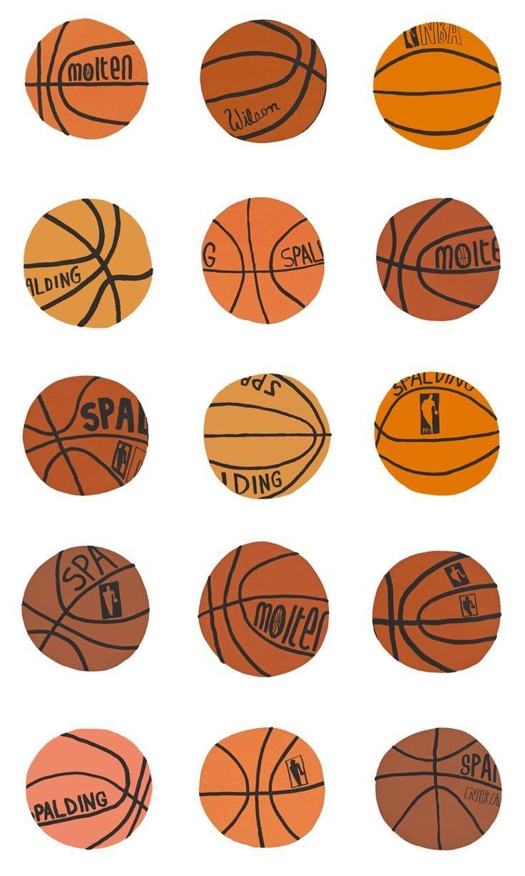 love this basketball illustration