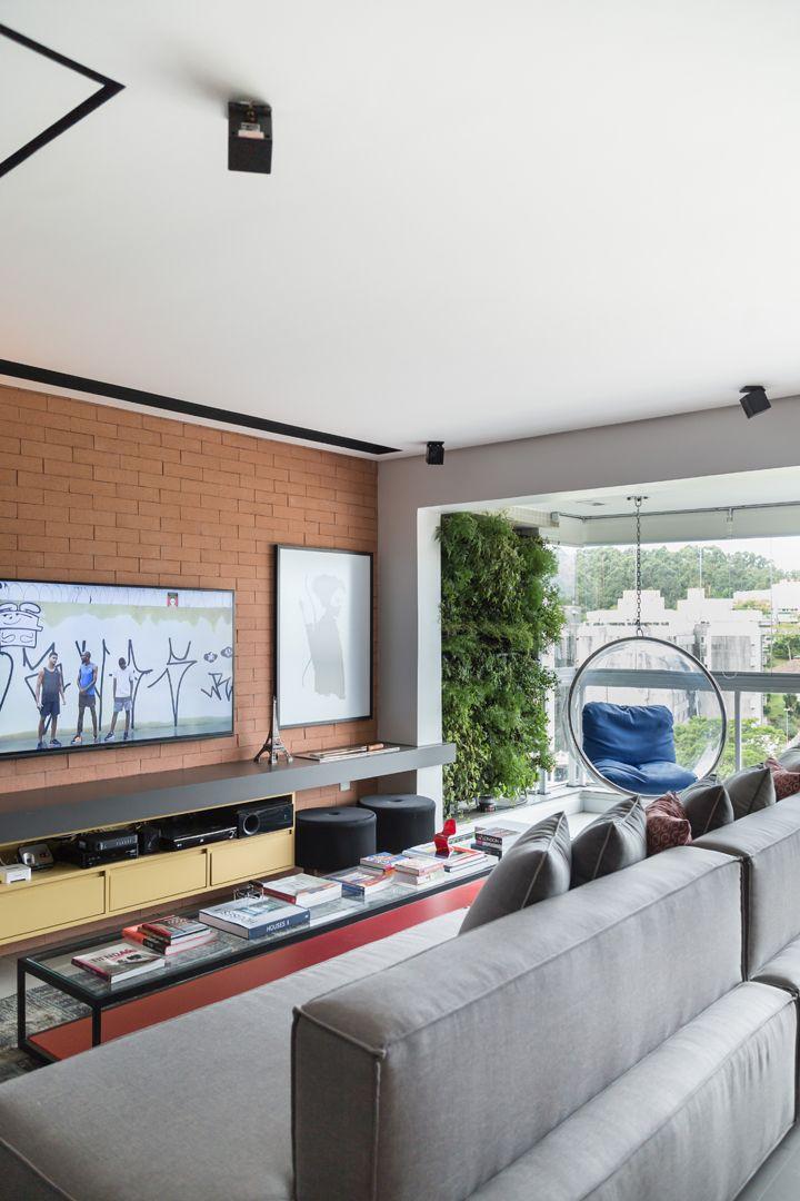 Um apartamento moderno e aconchegante…
