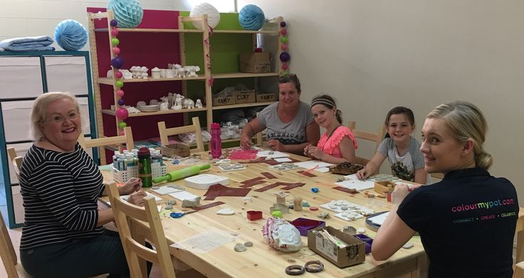 Super fun afternoon during our clay pendant class and the options are only limited to your imagination! Thanks to Greta Ella, Ava, Ella and Frances for joining in. We will definitely do this again soon. F #claypendants #clay #iloveclay #makeagift #handmade #funwithfriends #colourmypot #paintyourownpottery #pyop https://plus.google.com/photos/118203478378317304508/albums/6466315564328273761?authkey=CKGrpKa67qW4KQ