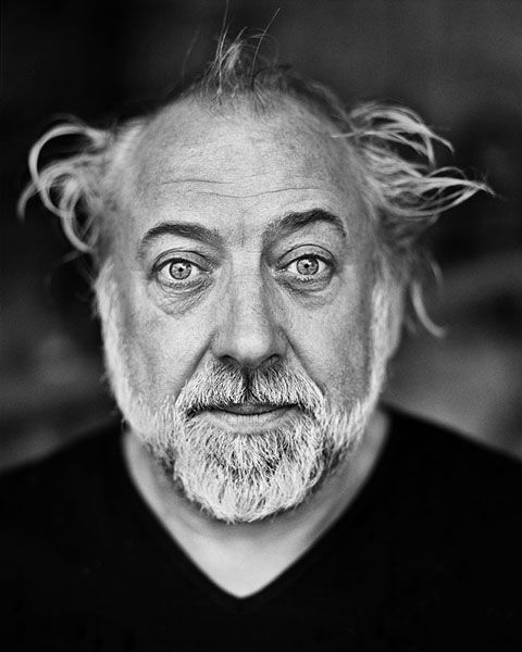Urbain Servranckx, aka Urbanus (°1949) - Belgian comedian, singer, guitarist, author of comic books and actor. Photo by Stefan Vanfleteren