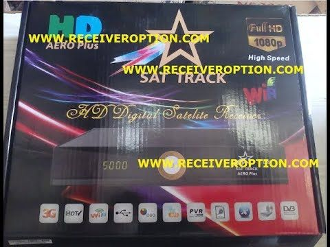 SAT TRACK AERO PLUS HD RECEIVER POWERVU KEY NEW SOFTWARE | star look