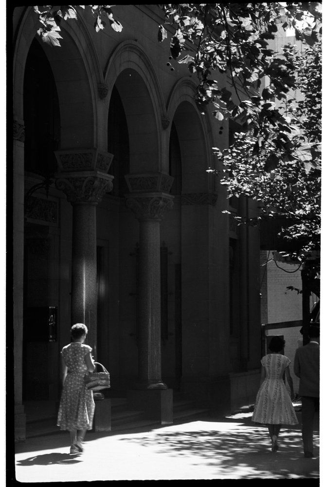 Mark Strizic. City Street . Melbourne, Victoria,. Australia. ca 1950's