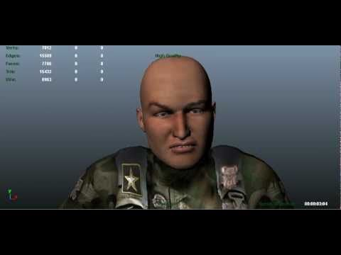 Kinect Facial Motion Capture with Faceshift and Project Pinocchio Character