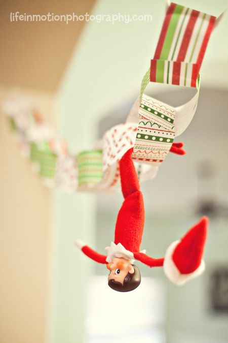 how to make elf on the shelf stand