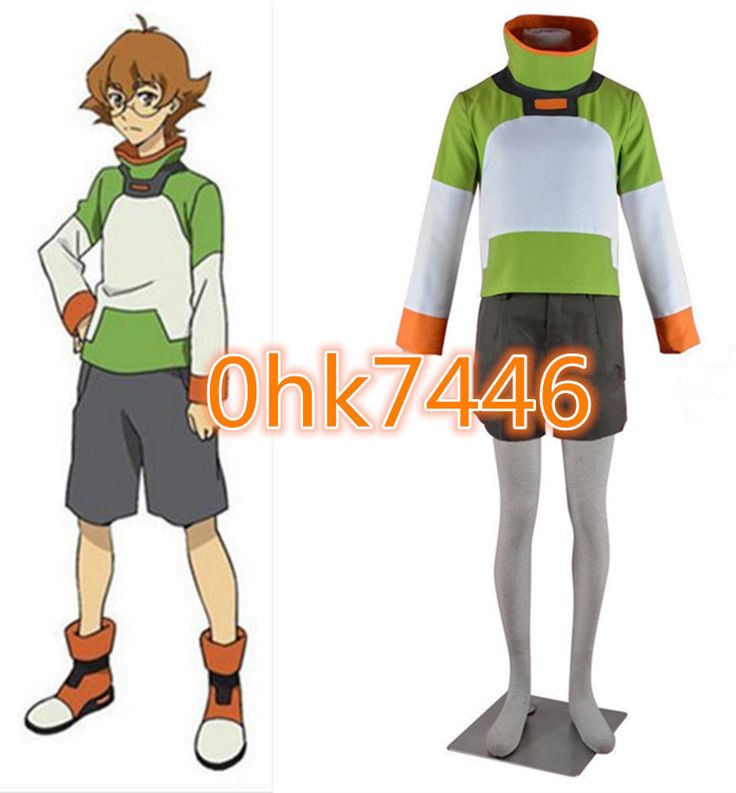NEW Voltron: Legendary Defender Pidge Halloween Suit Cosplay Costume A.050 #Unbranded #CompleteOutfit